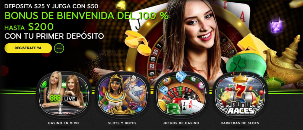 Diviértete en 888casino Perú